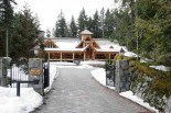 Cedarstone Whistler Entrance in Winter
